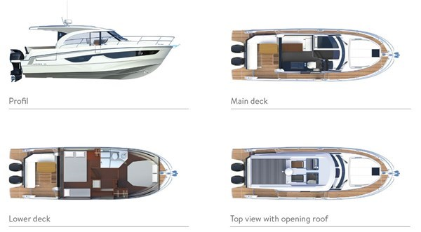 Beneteau Antares 11 OB (NEW - Launching December 2019)
